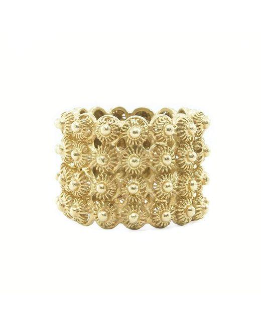 Vanilo - Metallic Rafaela Ring - Lyst