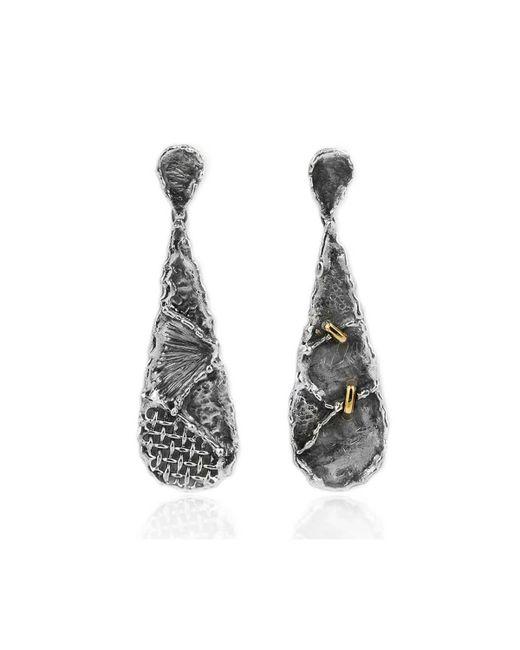 Katarina Cudic - Metallic Almost New Drop Earrings - Lyst