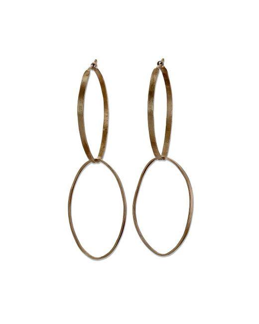 Sarah Macfadden Jewellery - Metallic The Elizabeth Earrings In Silver - Lyst
