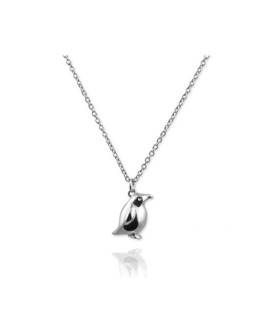 Jana Reinhardt Jewellery - Metallic Tiny Penguin Necklace - Lyst