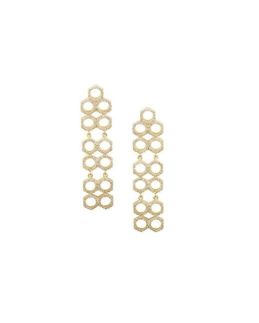 Joanna Laura Constantine - Metallic Nuts Dangling Earrings - Lyst