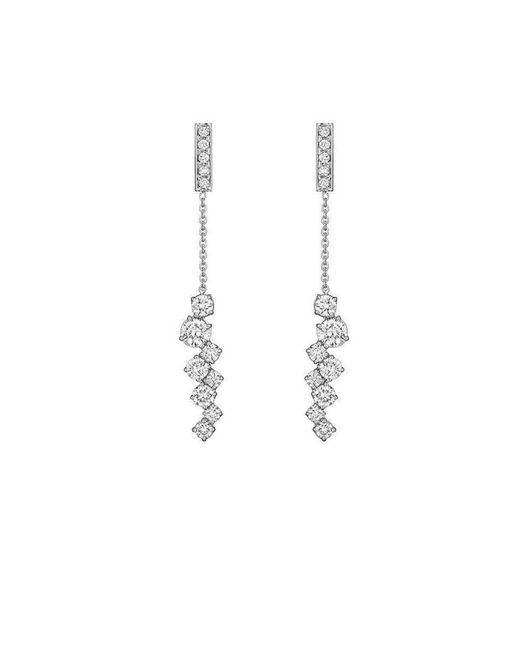 Madstone Design - Metallic Diamond Melting Ice Bar Earrings - Lyst