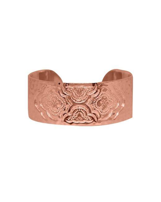 Murkani Jewellery - Multicolor Rose Gold Heavenly Cuff Bangle - Lyst