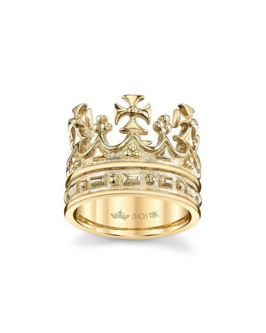 Cynthia Bach - Metallic Queen Elizabeth Crown Ring - Lyst