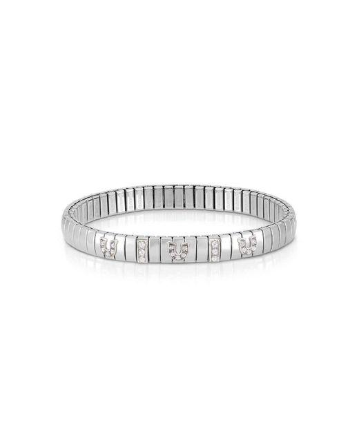 Nomination - Metallic Xte Bracelet Zirconia Horseshoe - Lyst