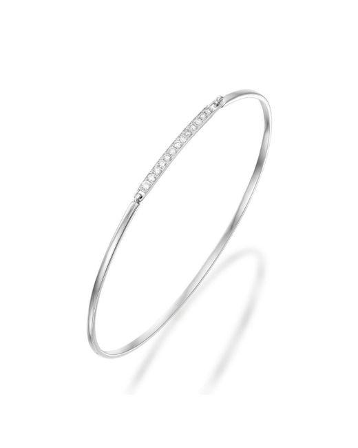 SHARON Fine Jewelry - Multicolor Pave Bar Bangle - Lyst