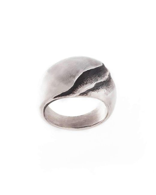 Poul Havgaard Jewelry | Metallic Asymmetric Silver Ring | Lyst