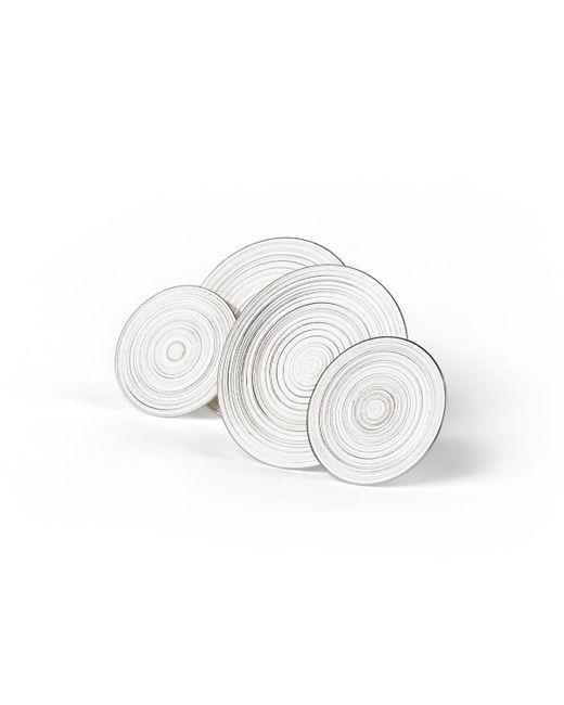 aka jewellery - Metallic Sterling Silver Orbit Earrings - Lyst
