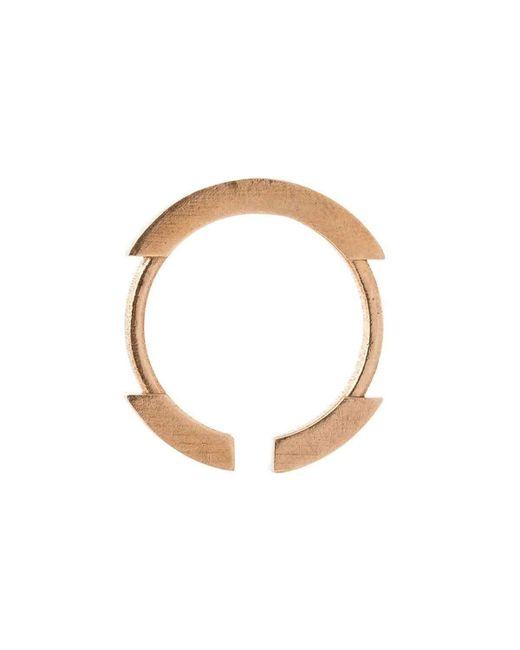 Lumitoro | Multicolor Stickii Ring Ii Raw Bronze | Lyst