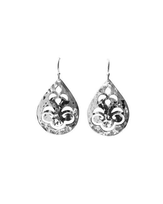Murkani Jewellery - Multicolor Tear Drop Small Silver Earrings - Lyst