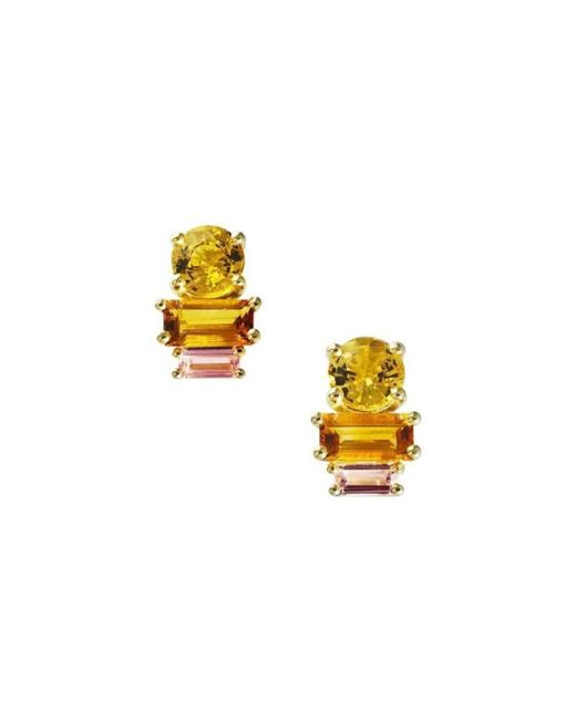 Daou Jewellery - Multicolor Golden Light Earrings - Lyst