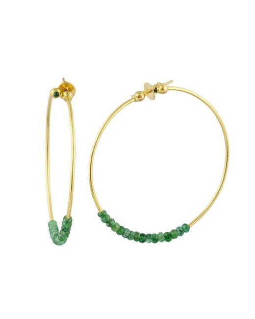 Gurhan - Metallic Delicate Rain Hoop Earrings - Lyst