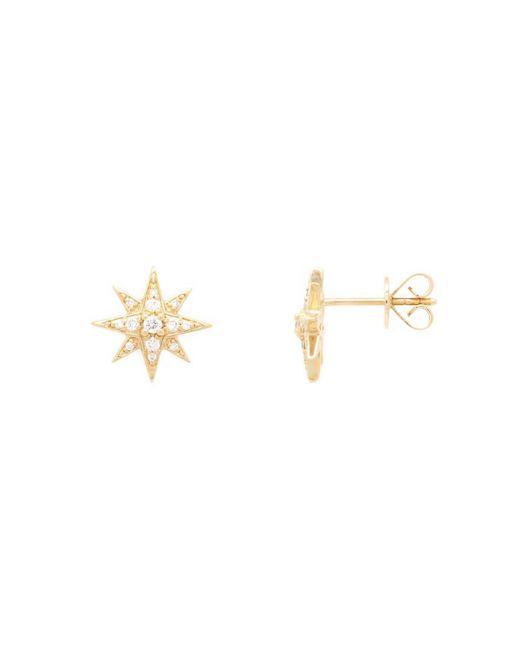 Vea Fine Jewelry - Metallic Guardian Star Stud Earrings In Yellow Gold - Lyst