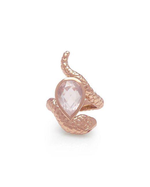 Alexandra Alberta - Pink Arizona Rose Ring - Lyst