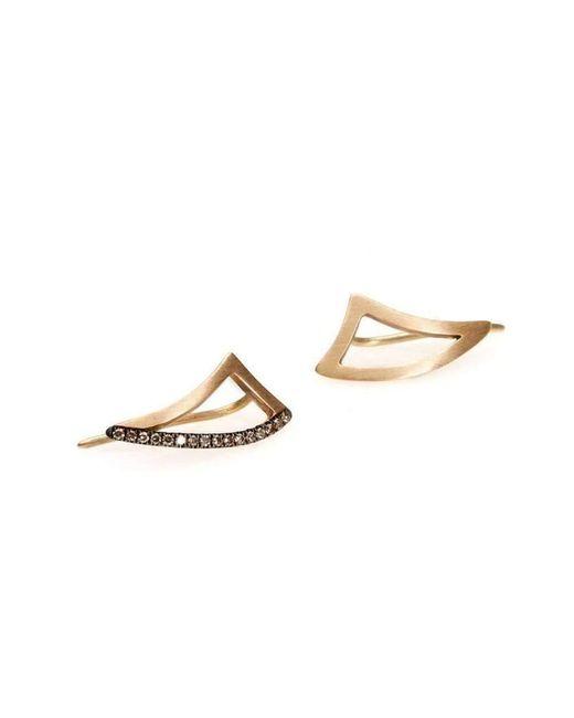 Polina Sapouna Ellis - Multicolor Keras Lobe Earrings On Diamonds - Lyst