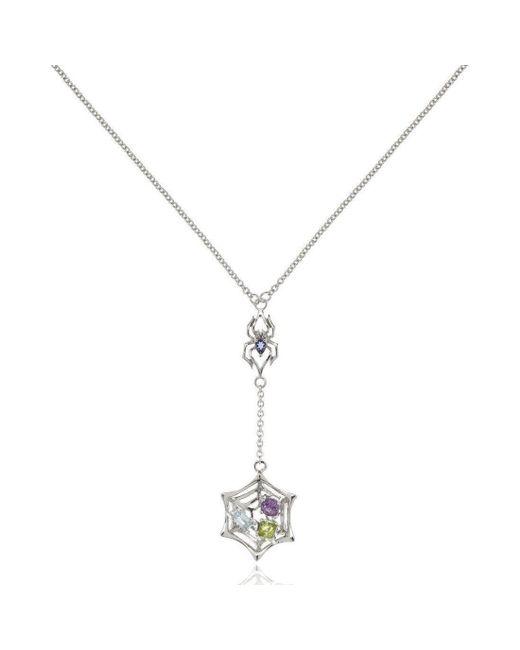 MANJA Jewellery - Metallic Small Anansi Necklace - Lyst
