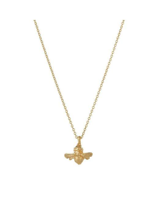 Deborah Blyth Jewellery - Metallic Gold Bumble Bee Necklace - Lyst