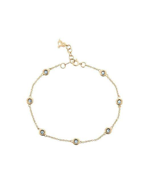 Betty Balaba - Metallic Hailstones Catching Light Sapphire Bracelet - Lyst