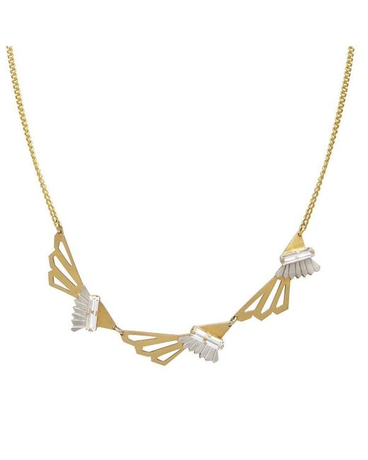 Anna Byers Jewellery - Multicolor Three-wing Necklace - Lyst