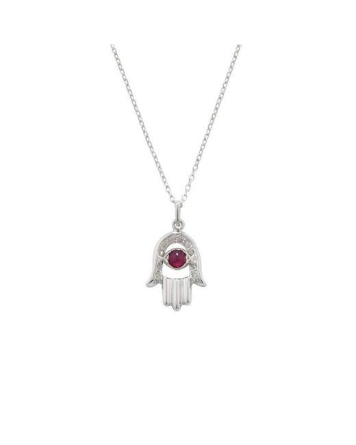 London Road Jewellery White Gold Diamond Enchanted Wishbone Pendant qjNFdT1rjM