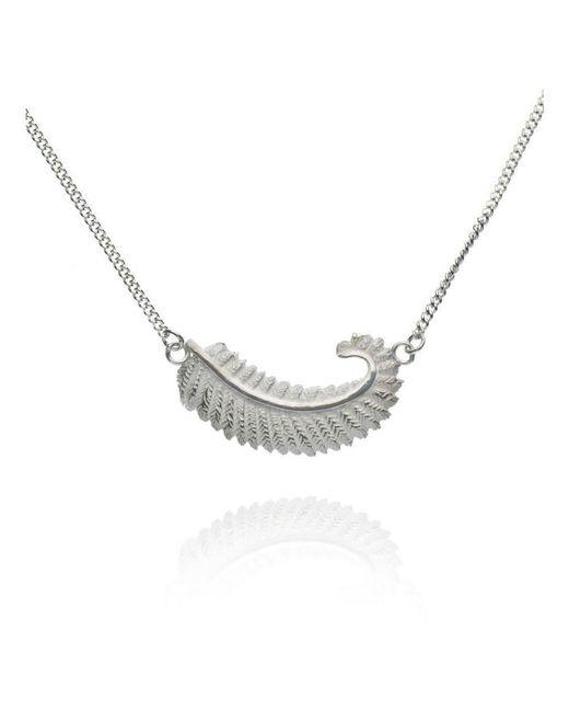Patience Jewellery - Multicolor Fern Necklace - Lyst