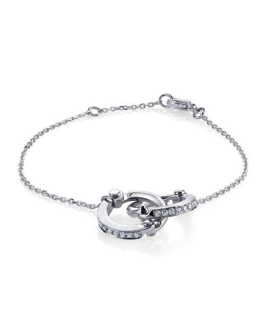 Borgioni Handcuff Chain Bracelet in Rose Gold hAwwSHhM56