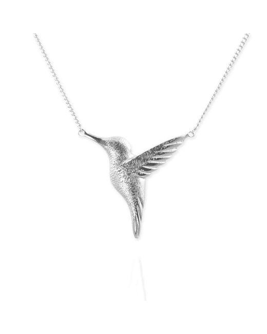 Jana Reinhardt Jewellery - Metallic Sterling Silver Hummingbird Necklace - Lyst