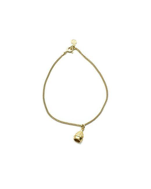 Patience Jewellery - Metallic Single Bell Bracelet Vm - Lyst