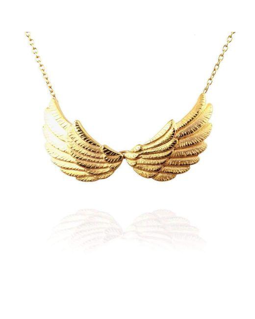 Jana Reinhardt Jewellery - Metallic Golden Double Wing Necklace - Lyst