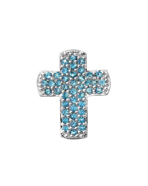Nehita Jewelry | Blue Topaz Cross Necklace | Lyst