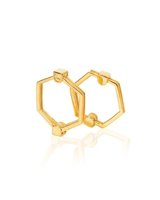Xiaohe Shen - Metallic The Gold Hexagon Ring - Lyst