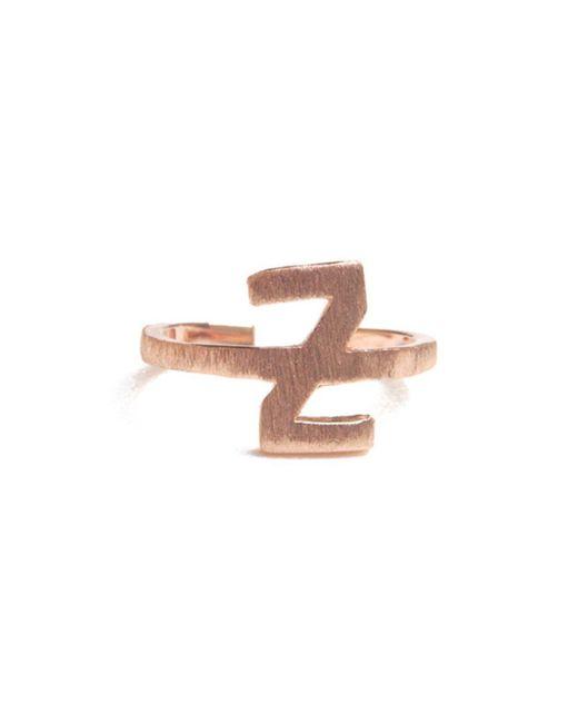 ZLABA - Multicolor Alphabet - Z Ring - Lyst