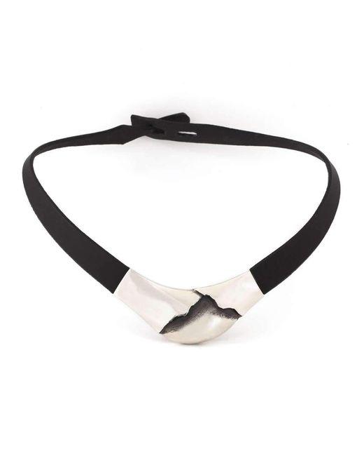 Poul Havgaard Jewelry | Metallic Asymmetric Silver Necklace | Lyst