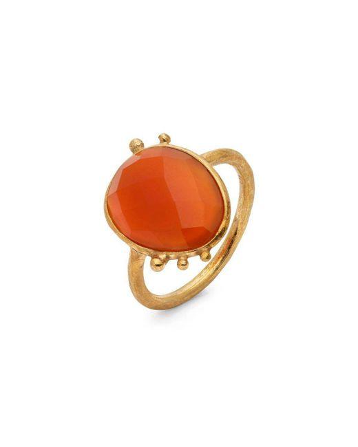 Donatella Balsamo | Orange Amazonia Red Ring | Lyst