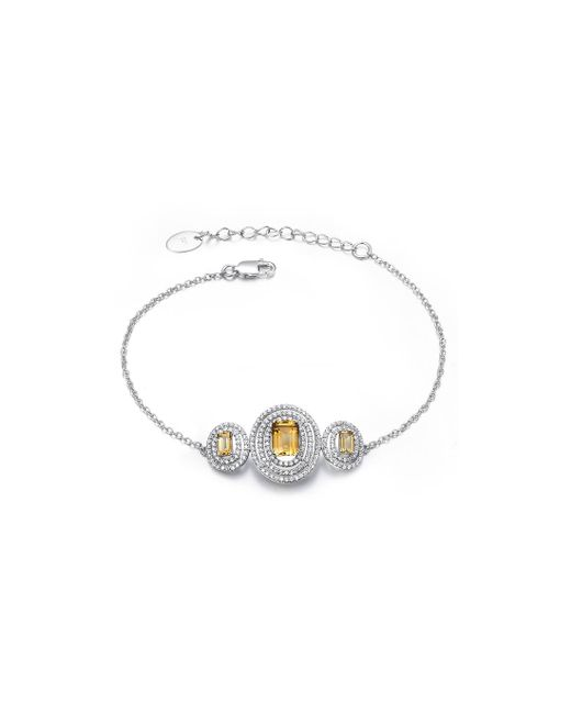 H.Azeem - Multicolor Stunning Citrine Bracelet - Lyst