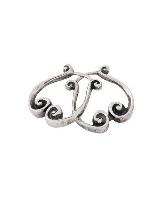 freeRange JEWELS | Metallic Silver Queen Athena Earrings | Lyst