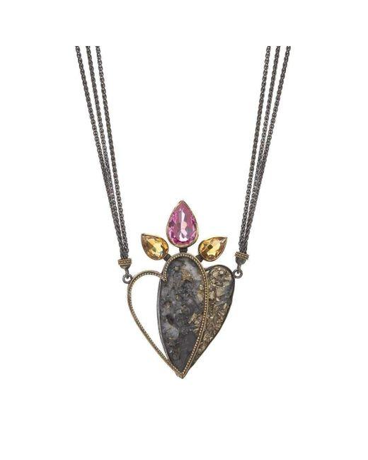 Nicofilimon - Multicolor Desert's Flower Necklace - Lyst