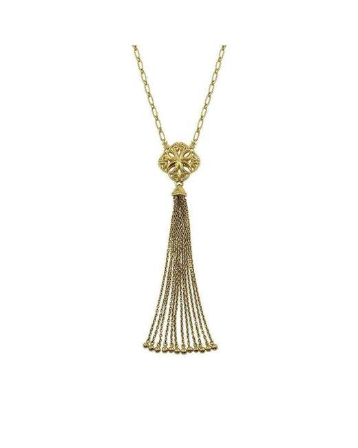 REALM - Metallic Insignia Delicat Y Necklace - Lyst