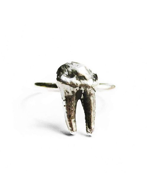 Birds N Bones Jewelry | Multicolor Cervidae Tooth Ring | Lyst