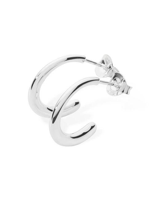 Lucy Quartermaine - Multicolor Mini Drop Earrings Silver - Lyst