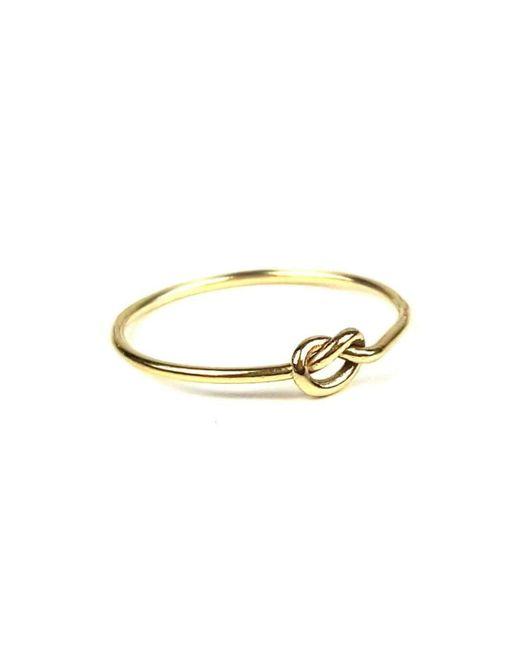 Gill Pottle Jewellery   Metallic Amity Ring   Lyst