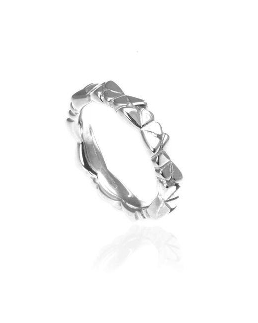 Jana Reinhardt Jewellery - Metallic Silver Butterfly Eternity Ring - Lyst