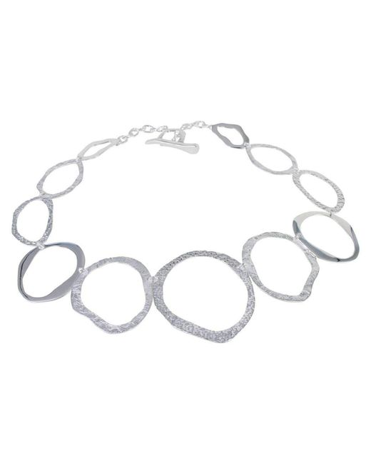 Reeves and Reeves | Metallic Pebbles Necklace | Lyst