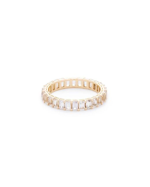 VOA Fine Jewellery - Multicolor Signature Emerald White Eternity Ring - Lyst