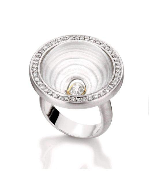 Rose Carvalho - Metallic Mandala Of Time Ring - Lyst