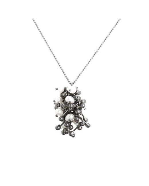 Yen Jewellery - Multicolor Blossom Cluster Necklace - Lyst