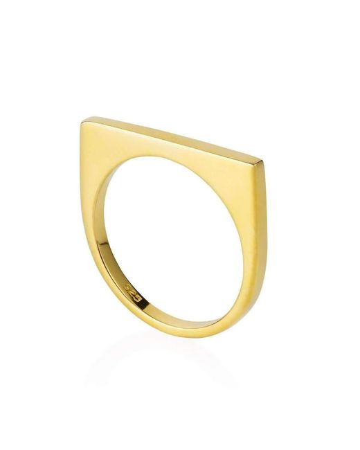 Neola - Metallic Minerva Gemstone Ring Gold - Lyst