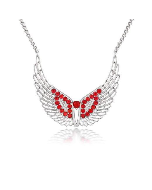 Tivon Fine Jewellery | Red Tivon Angel Heart Neckpiece | Lyst