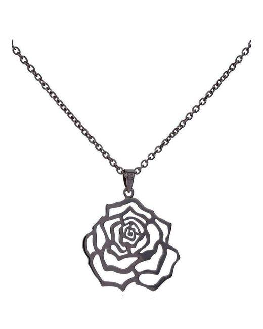 MANJA Jewellery - Multicolor Rosa Large Black Pendant - Lyst