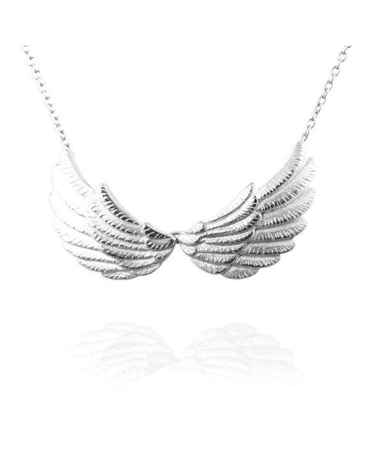 Jana Reinhardt Jewellery - Multicolor Silver Double Wing Necklace - Lyst